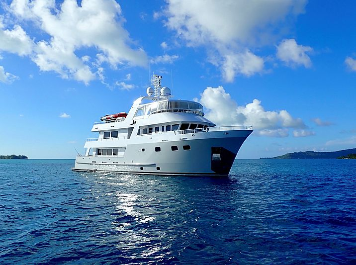 SEA FOREVER yacht ABD Aluminum