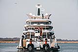 Feadship yacht Moonrise launch in Makkum