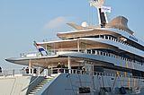 Feadship De Vries Hull 1008 Moonrise yacht launch in Makkum