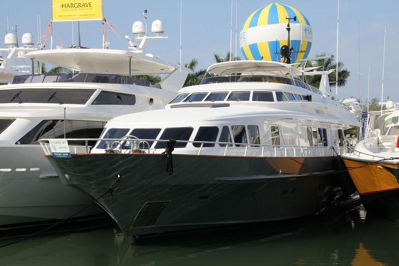 WATERCOLOURS yacht Trinity