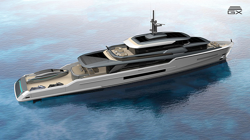 Ross150 yacht exterior design
