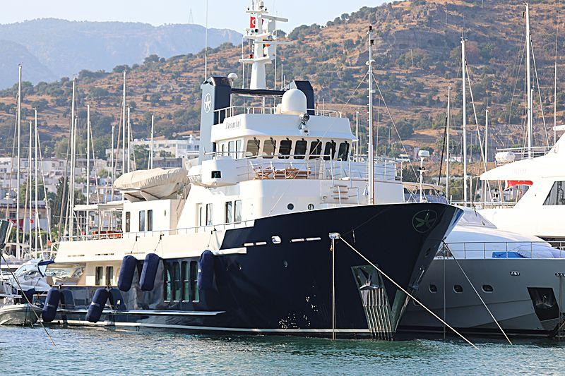 Jasmin yacht in Bodrum Marina
