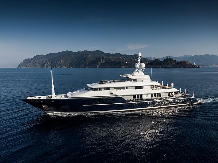 TRIPLE SEVEN yacht Nobiskrug