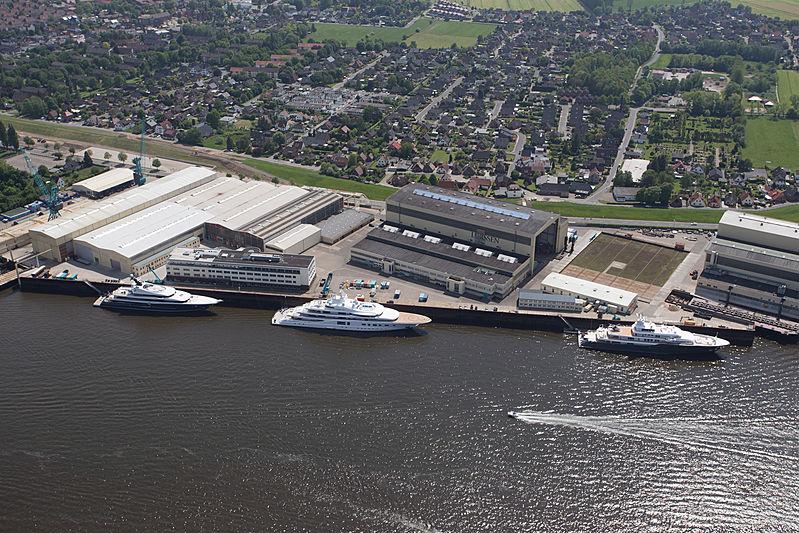 Lurssen Lemwerder shipyard