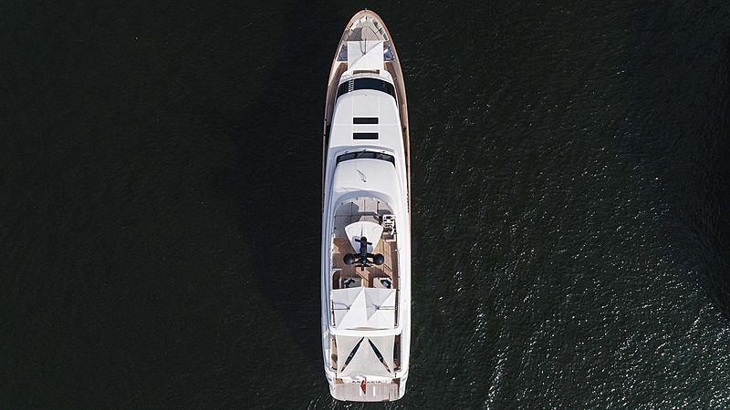 Arkadia yacht aerial
