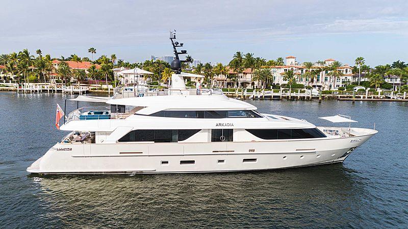 ARKADIA  yacht Sanlorenzo