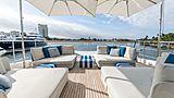 Arkadia yacht sundeck