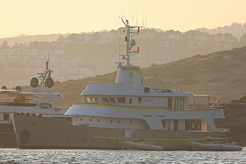 Lady Dida yacht anchored off Bodrum