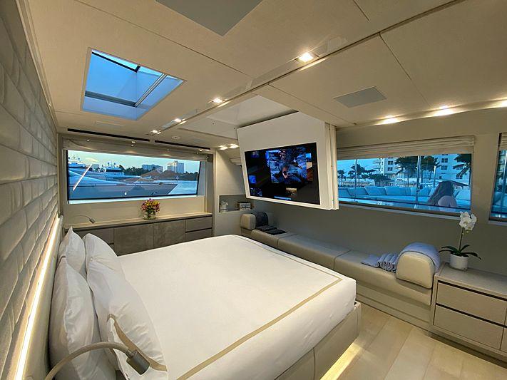 Arkadia yacht stateroom