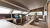 Arkadia yacht wheelhouse