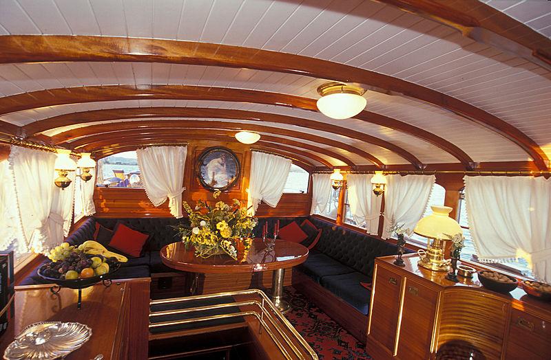 Weatherbird yacht interior