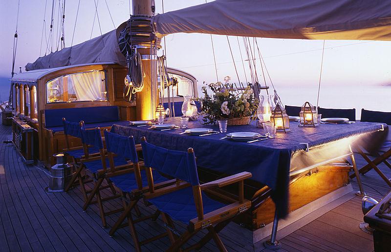 Weatherbird yacht deck