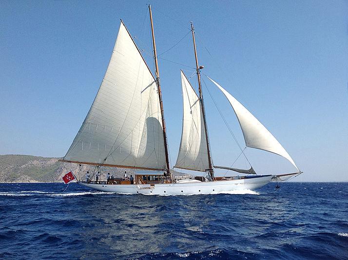 Weatherbird yacht sailing