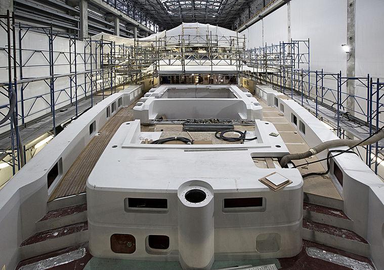Baglietto 10231 yacht in build