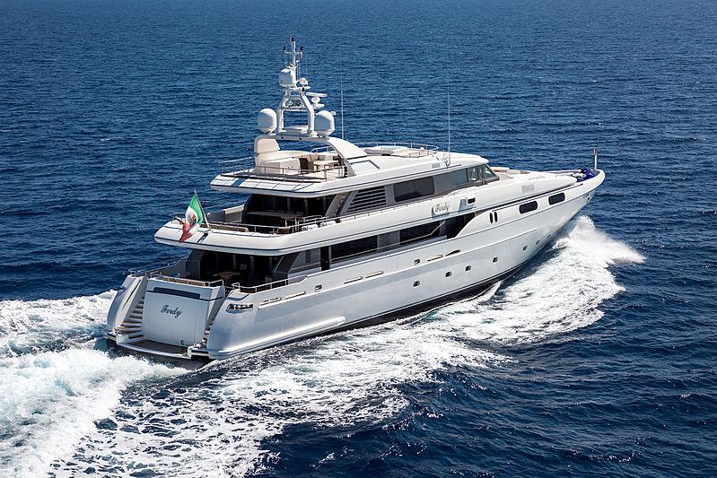 Ferdy yacht running