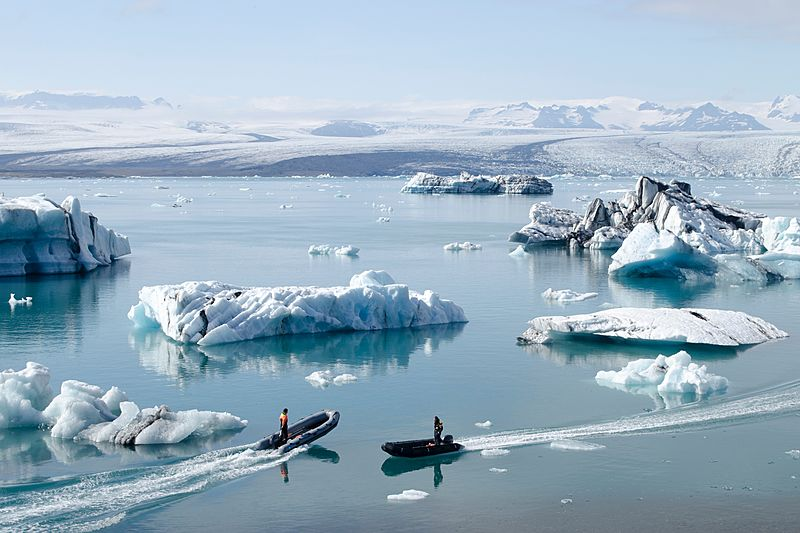 Travel: Boats in Greenland marketing
