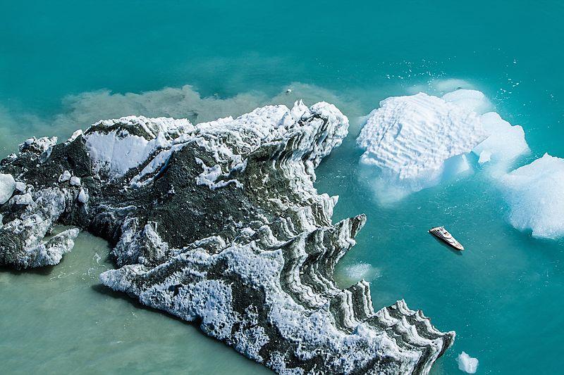Yacht in Greenland travel marketing