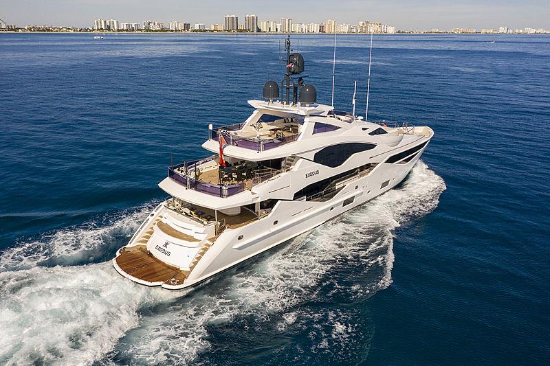 Exodus yacht cruising