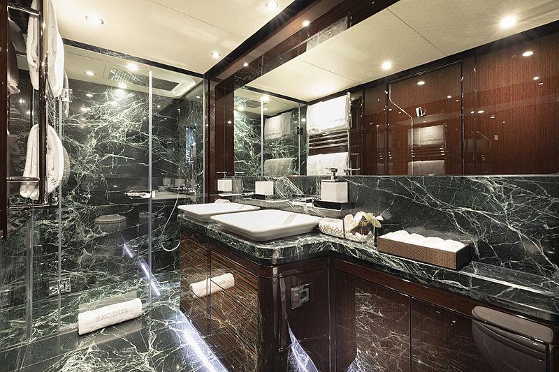 Exodus yacht bathroom