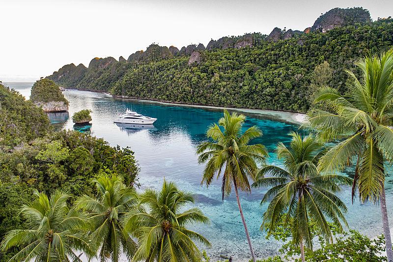 Yacht tourism in Raja Ampat marketing
