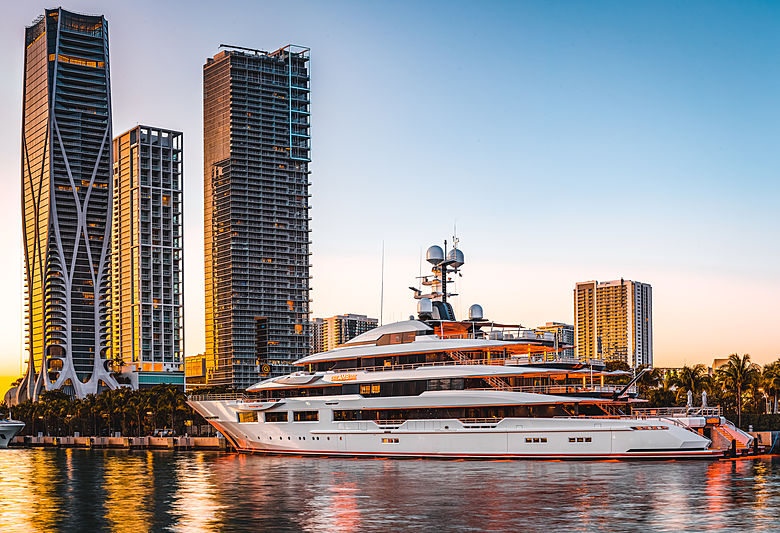 DreAMBoat yacht by Oceanco in Miami