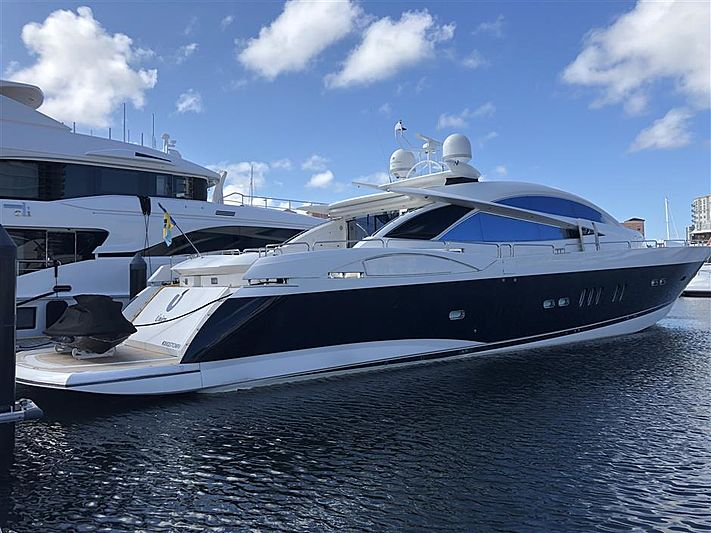 UNICO yacht Sunseeker
