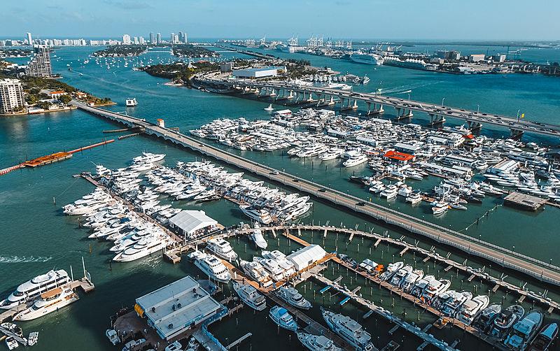 Miami Yacht Show 2020 Day 1