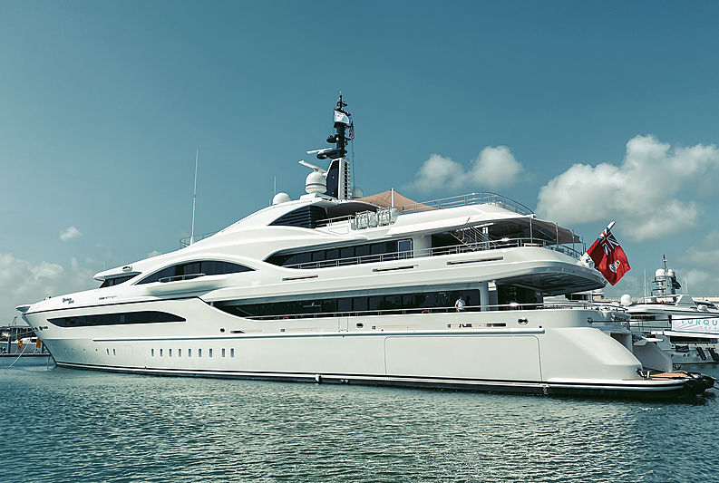 Quantum of Solace yacht by Turquoise in Miami