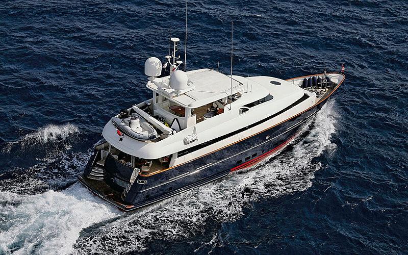 Bugari Superba 88 yacht Meow