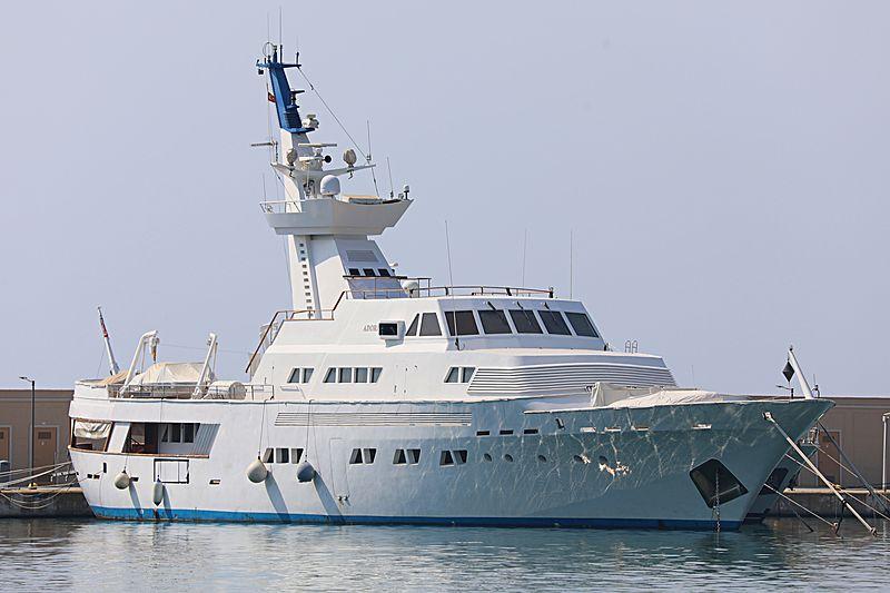 Adoria yacht in Kusadasi Marina