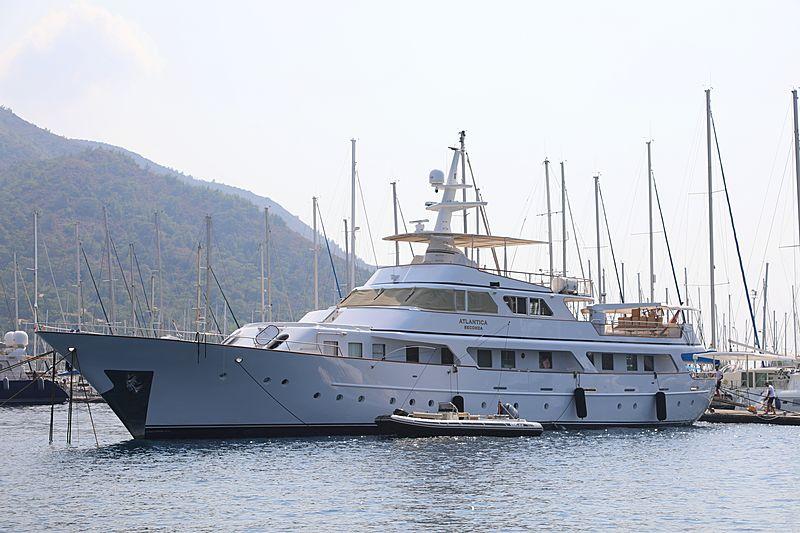 Atlantica Seconda yacht in Marmaris Marina