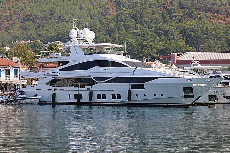Legasea yacht in Marmaris Marina
