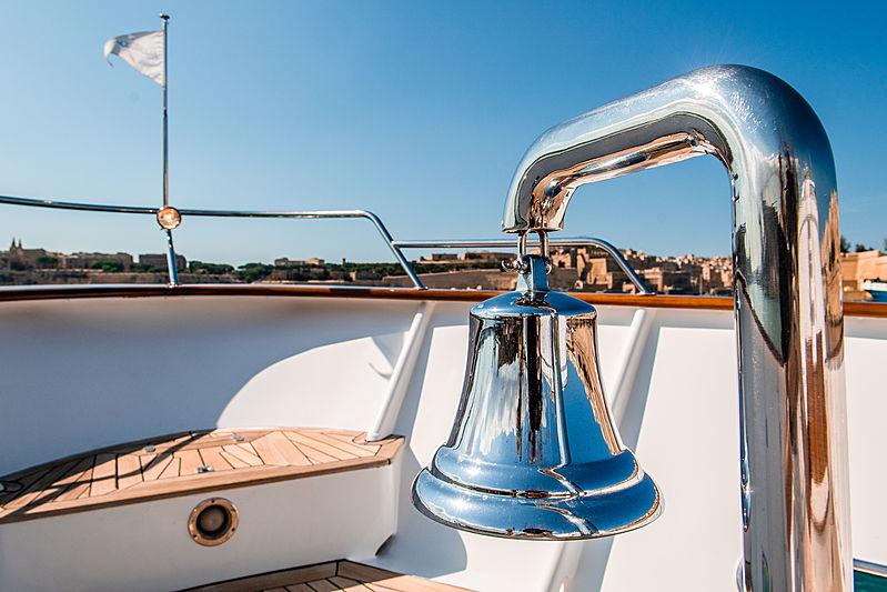 A & A yacht exterior detail