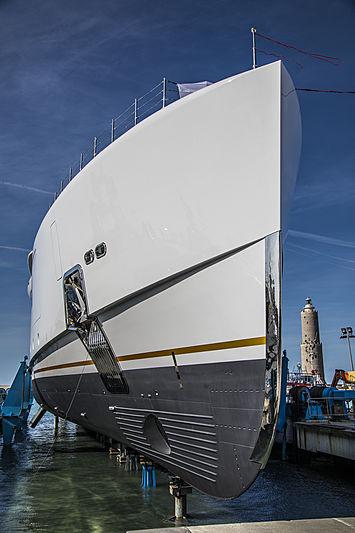 Alkhor yacht launch in Livorno