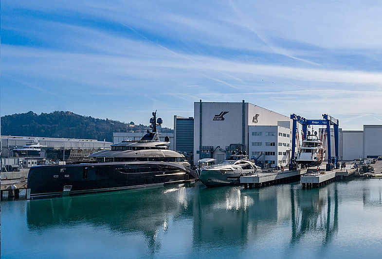 CRN 137 superyacht in Ancona