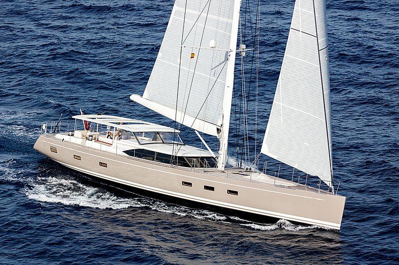 Child of Lir yacht sailing