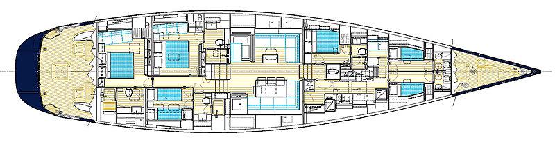 Varsovie yacht GA
