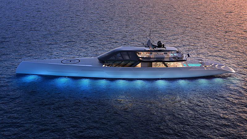 ICE Kite superyacht design