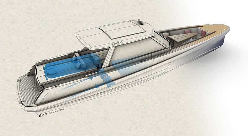Hypnova yacht rendering