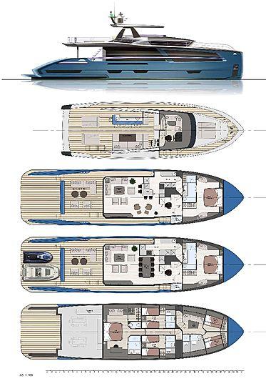 Van der Valk 26m Pilot yacht GA