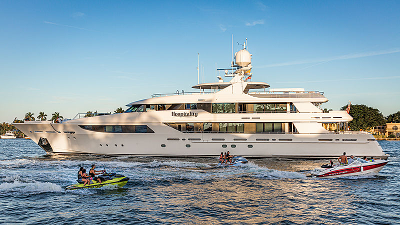 Hospitality yacht by Westport in Fort Lauderdale