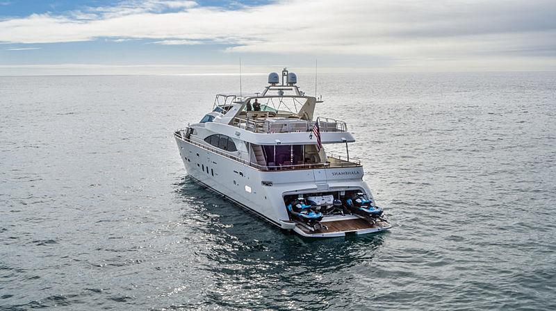 Shambhala yacht anchored