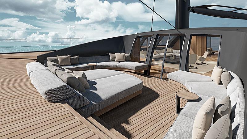 BlackCat 30 yacht concept exterior design