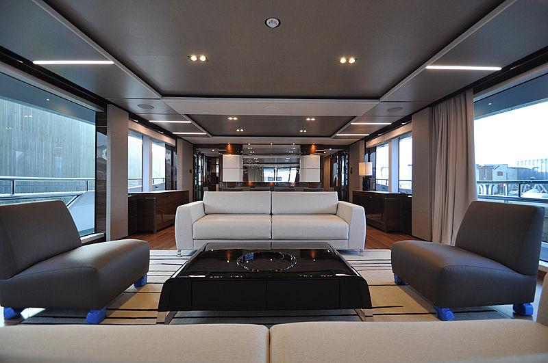 Avalon yacht interior