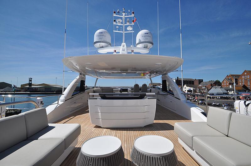 Avalon yacht top deck
