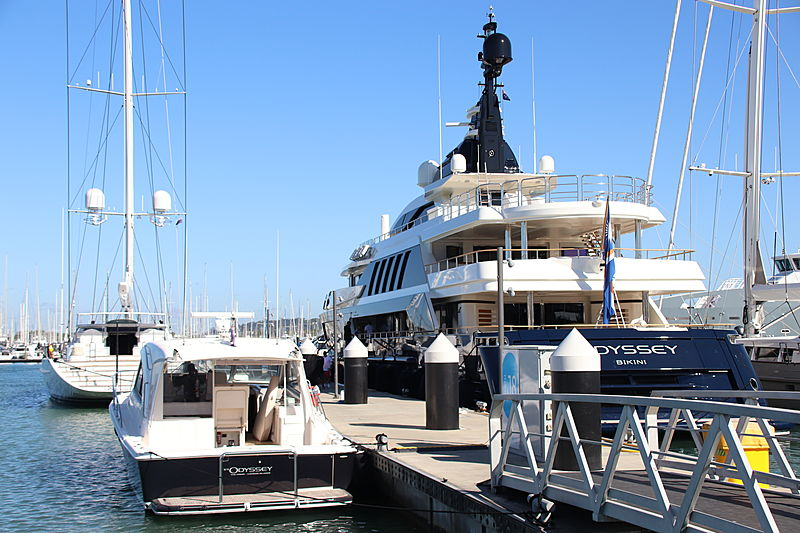 Odyssey yacht by CRN in Auckland, New Zealand