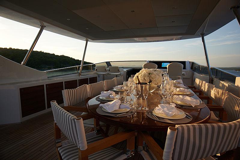 Princess Lona yacht flydeck