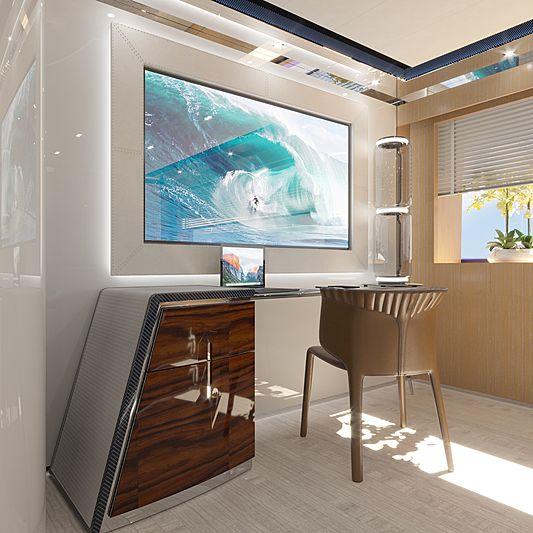 ISA Gran Turismo 45/01 interior design