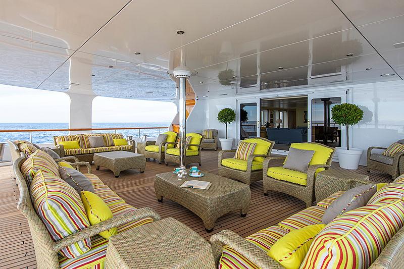 Leander G yacht deck
