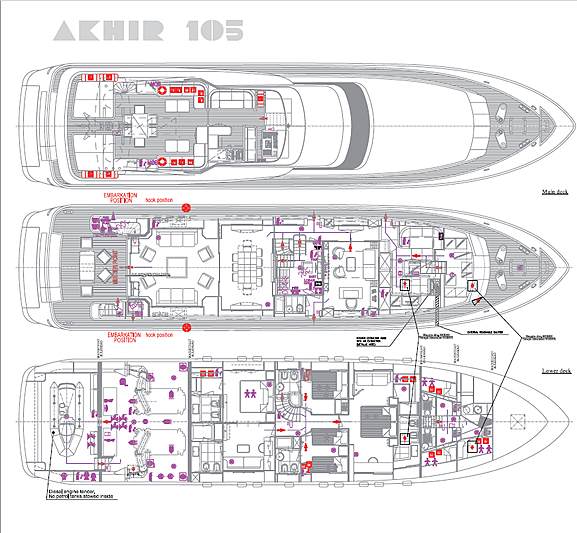 Zoo yacht layout